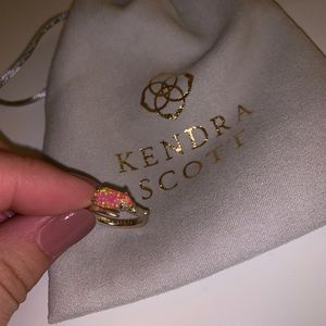 Kendra Scott Julia Ring - Pink w/gold